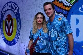 Amora Mautner e Arnon Affonso de Mello (Foto: Isac Luz / EGO)