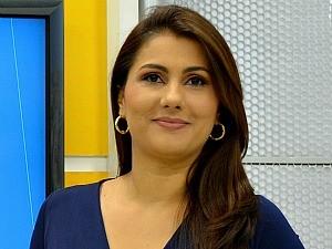 Yonara Werri é apresentadora do Bom dia Amazônia (Foto: Angelina Ayres Medeiros/Rede Amazônica)