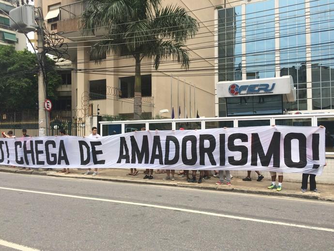 Amadorismo - torcida - Flamengo - Ferj (Foto: Sofia Miranda)