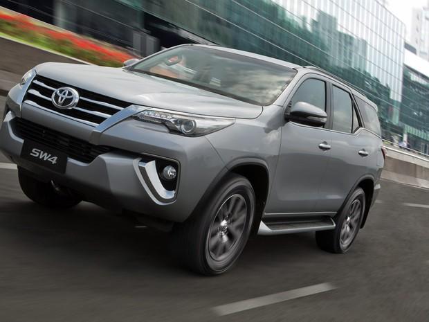 Toyota SW4 (Foto: Divulgação)
