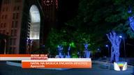 Santuário de Aparecida é decorado para o Natal com 450 mil lâmpadas de led