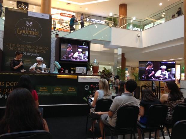 Festival Gourmet segue até o próximo domingo (5) (Foto: Divulgação)