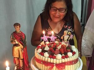 Mãe Gusttavo Lima (Foto: Reprodução/Facebook)