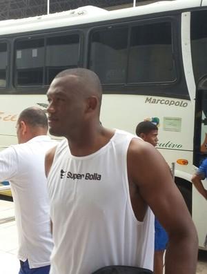 Jeferson, goleiro do CSA (Foto: Augusto Oliveira/GloboEsporte.com)