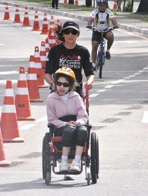 Claudia Schaefer e sua Filha Beatriz, Minha História, Eu Atleta (Foto: Arquivo Pessoal)