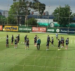Treino Palmeiras (Foto: Rodrigo Faber)