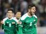 Iraquianos festejam jogo contra o Brasil nos Jogos e sonham com paz