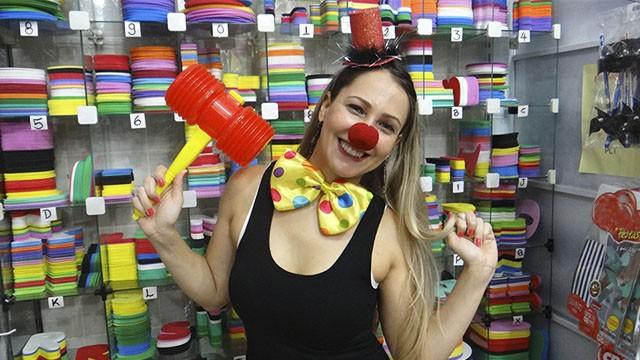 Fantasia Palhacinha Delicada (Foto: Fernanda Maciel)