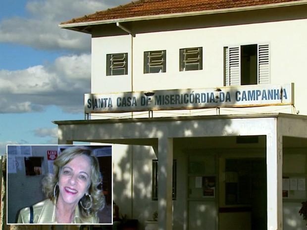 Mulher morre com suspeita de dengue em hospital de Campanha (Foto: Reprodução EPTV)
