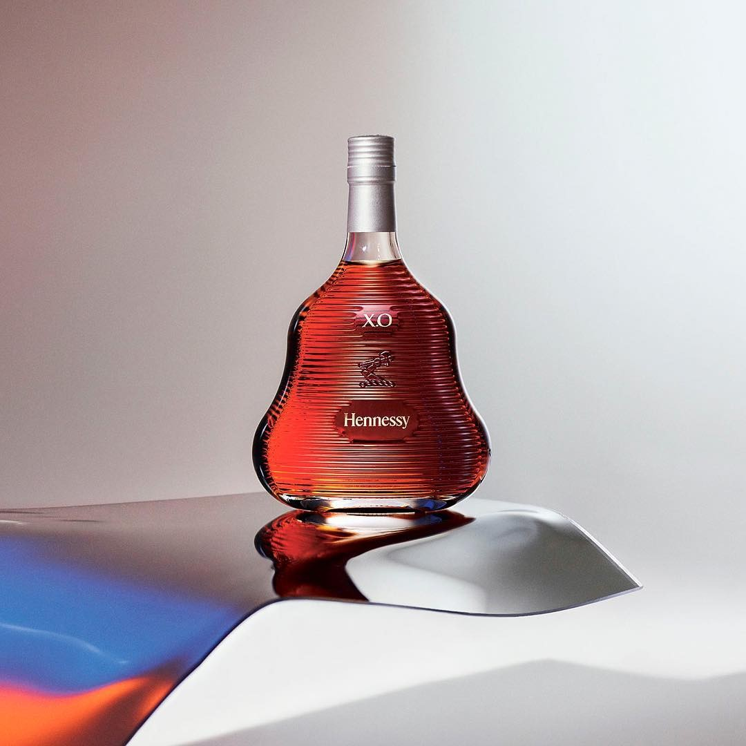 A edição limitada Hennessy X.O 2017, assinada por Marc Newson  (Foto: Divulgação)