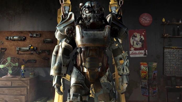 Sua armadura em Fallout 4. Você está preparado? (Foto: Divulgação/Bethesda)