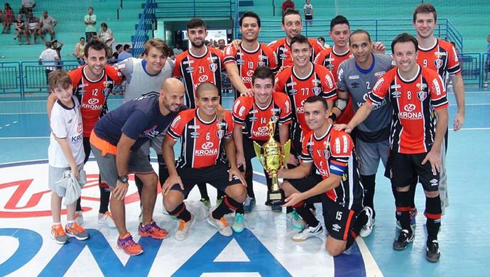 Joinville futsal (Foto: Divulgação/JEC)