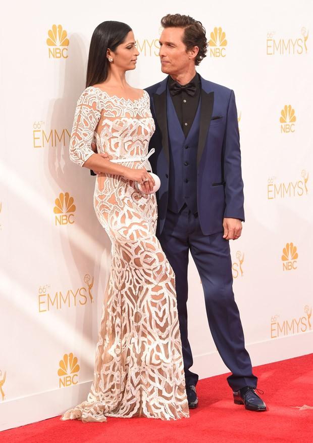 [620] Camila Alves no Emmy 2014 (Foto: Getty Images)