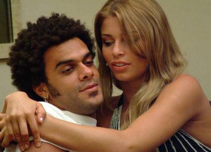 Alan e Grazi ficaram juntos por quase três anos após o BBB5 (Foto: TV Globo)