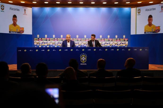 Tite convocação seleção eliminatórias (Foto: Pedro Martins / MoWA Press)
