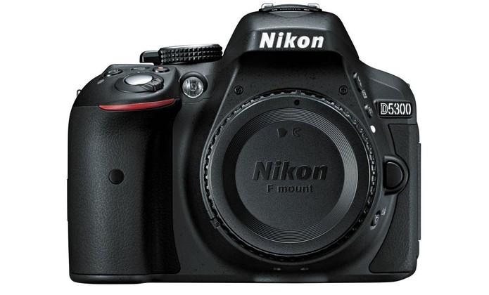 Câmera Digital Nikon D5300 tem lentes intercambiáveis e Wi-Fi embutido (Foto: Divulgação/Nikon)