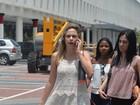 Ana Paula Renault diz ter sido agredida por taxistas em aeroporto