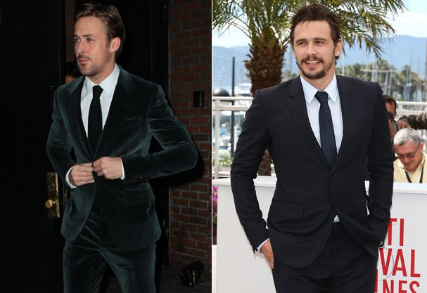 Ryan Gosling e James Franco (Foto: Getty Images/Honopix)