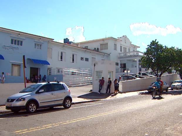 Santa Casa da Misericórdia de Mogi Mirim (Foto: Reprodução / EPTV)