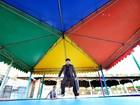 Grupo de teatro convida público a ocupar parque de diversões
