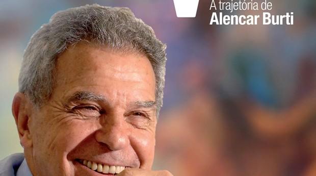 Livro conta a história de Alencar Burti (Foto: Reprodução )
