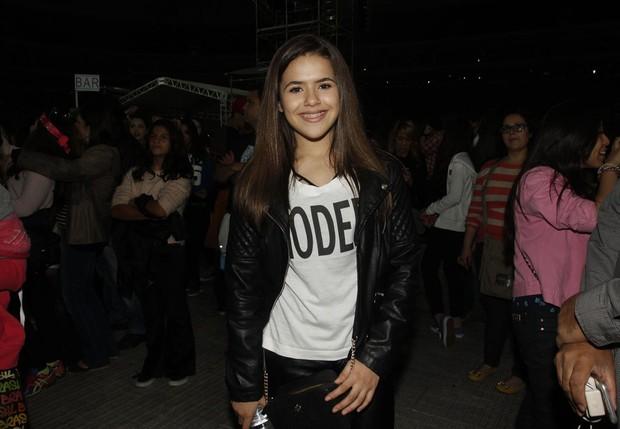 Maísa no show de Ariana Grande em São Paulo (Foto: Celso Tavares / EGO)