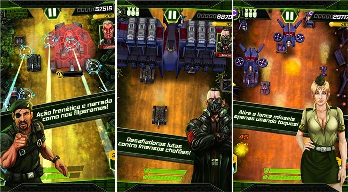 Tank Invaders é um game onde o usuário deve proteger seu território do inimigo (Foto: Divulgação/Windows Phone Store)