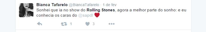 rolling Stones sonho (Foto: Reprodução)