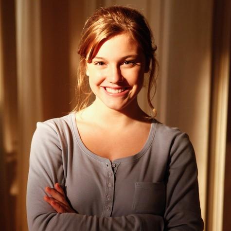 Alice Wegmann como Sofia, sua personagem em 'A vida da gente' (Foto: TV Globo)