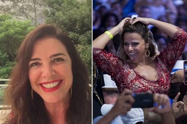Luma de Oliveira e Viviane Araújo (Foto: Reprodução/Vídeo e Alex Nunes/Divulgação)