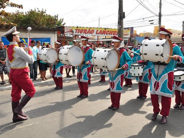 Concurso de Fanfarras e Bandas (Cofaban) é tradição em Resende (Foto: Jorge Trindade/Prefeitura Resende)