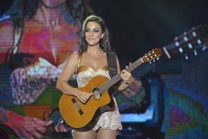 Ivete Sangalo no Festival de Verão de Salvador, na Bahia (Foto: Felipe Souto Maior/ Ag. News)
