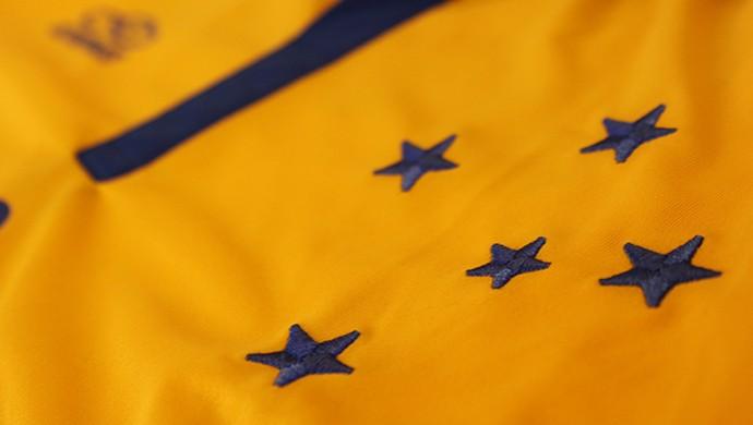 Uniforme amarelo do Cruzeiro (Foto: Reprodução / Site oficial do Cruzeiro)