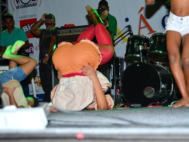 Valesca Popozuda em show no Rio (Foto: William Oda/ Foto Rio News)