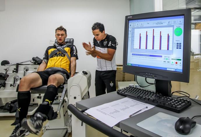 Tiago Pagnussat, zagueiro do Atlético-MG (Foto: Bruno Cantini/CAM)