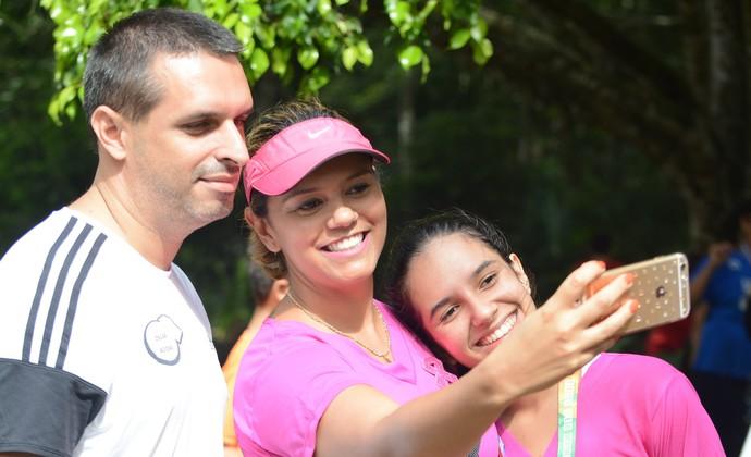 Patrícia Almeida corredora Mogi das Cruzes (Foto: Cairo Oliveira)