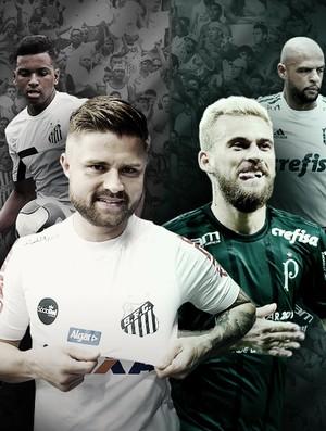 carrossel Palmeiras x Santos Vale este