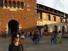 Grávida, Vanessa Giácomo curte viagem romântica pela Itália