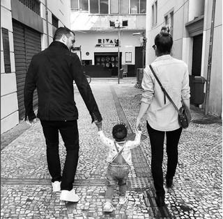 Leandra Leal, Alê Youseff e Julia (Foto: reprodução/instagram)