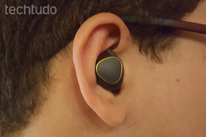 Samsung Gear IconX (Foto: Thássius Veloso/TechTudo)