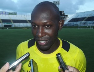 Somália sente pressão de 'comandar' equipe que estreia no Estadual (Foto: Klênyo Galvão)
