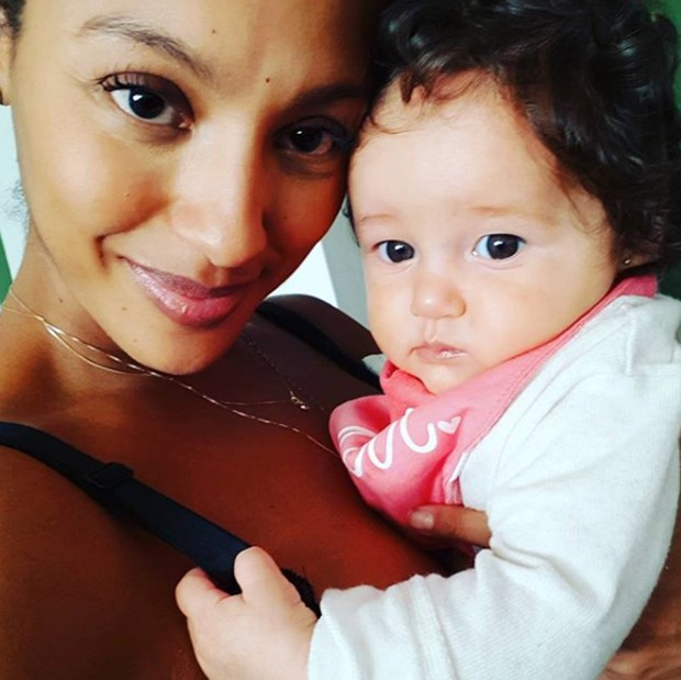Sheron Menezzes e Madalena (Foto: Reprodução/Instagram)
