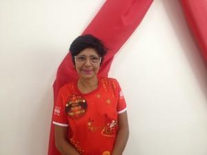 Presidente da Amaph, Márcia Pinheiro (Foto: Jéssica Alves/G1)