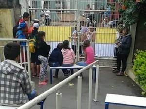 Escola de Lençóis Paulista foi ocupada (Foto: Maria Vitória dos Santos / Arquivo Pessoal)