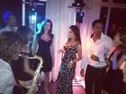 Christiane Torloni comemora aniversário com famosos
