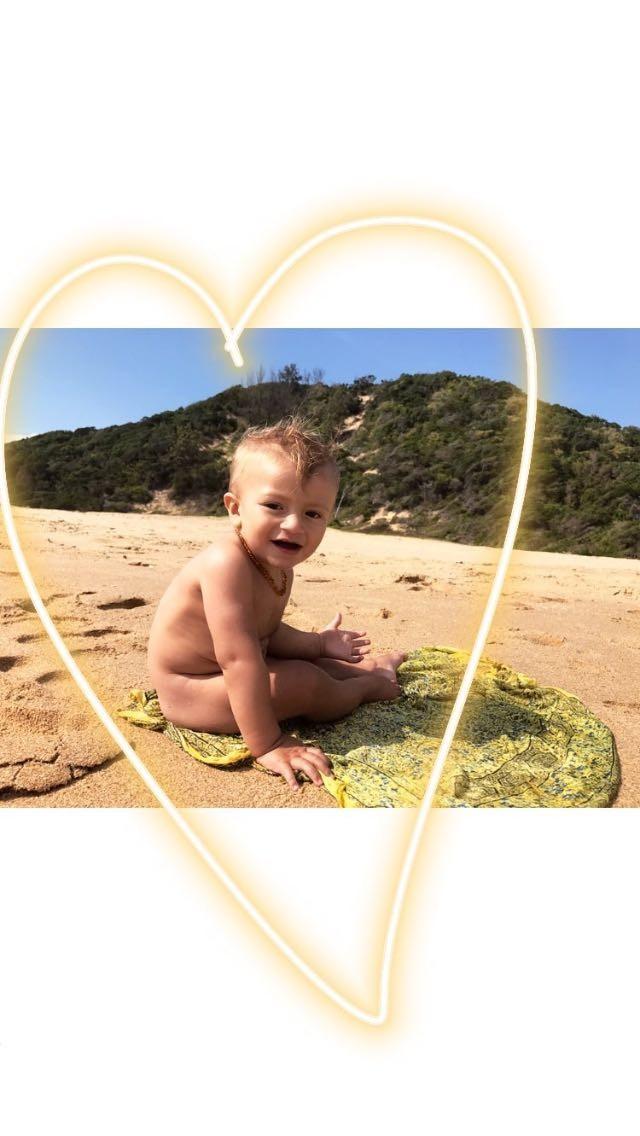 Anacan, filho de Candice Swanepoel (Foto: Reprodução/Instagram)
