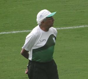 Givanildo Oliveira, técnico do América-MG (Foto: Lucas Borges)