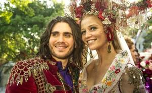Milita e Viramundo: sucesso com disco e notícia de novo irmãozinho (Renato Rocha Miranda/TV Globo)