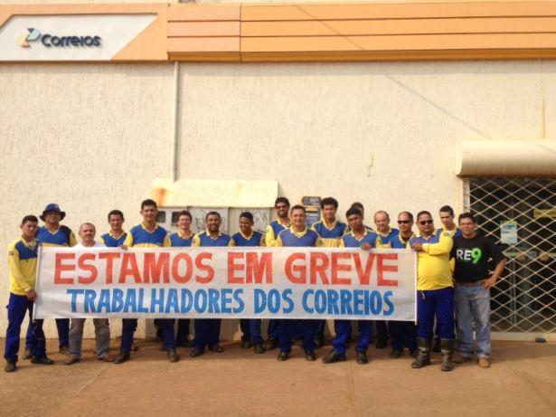 Funcionários não trabalharão durante 24  horas na Zona Sul de Porto Velho (Foto: Mary Porfiro/G1)