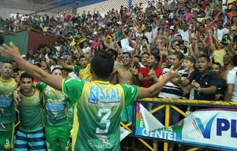 Único baiano na disputa, Curaçá busca o tri da Copa TV Grande Rio de Futsal